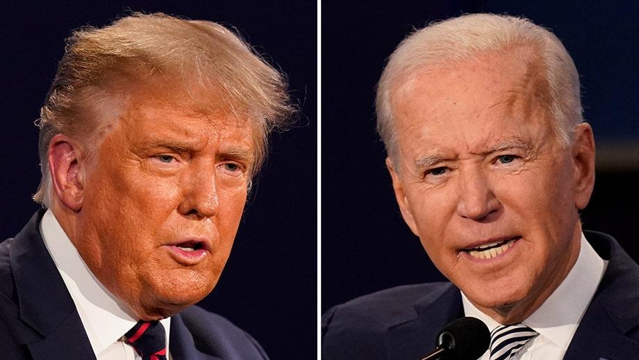 Presidential debate gets personal as Biden calls Trump a 'clown,' Trump tells Biden he's not 'smart'