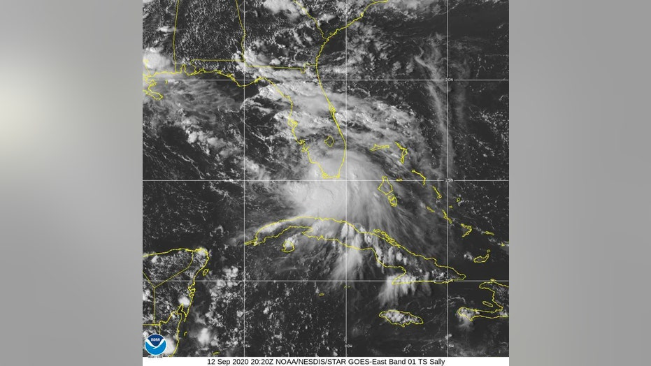 Tropical storm Sally strengthening, prompts hurricane and storm surge warnings