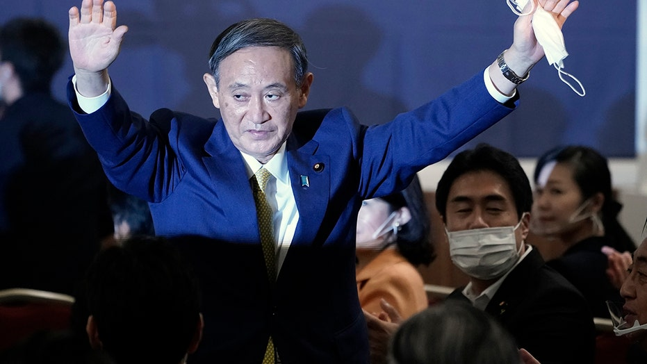 Suga wins party vote, to replace outgoing Abe as Japanese prime minister