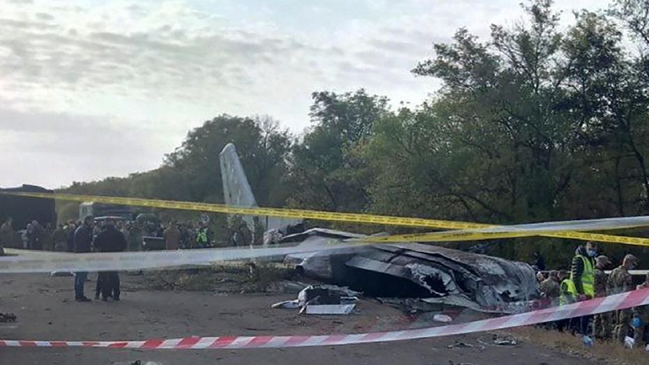 Ukraine plane crash death toll rises to 26, with 1 survivor