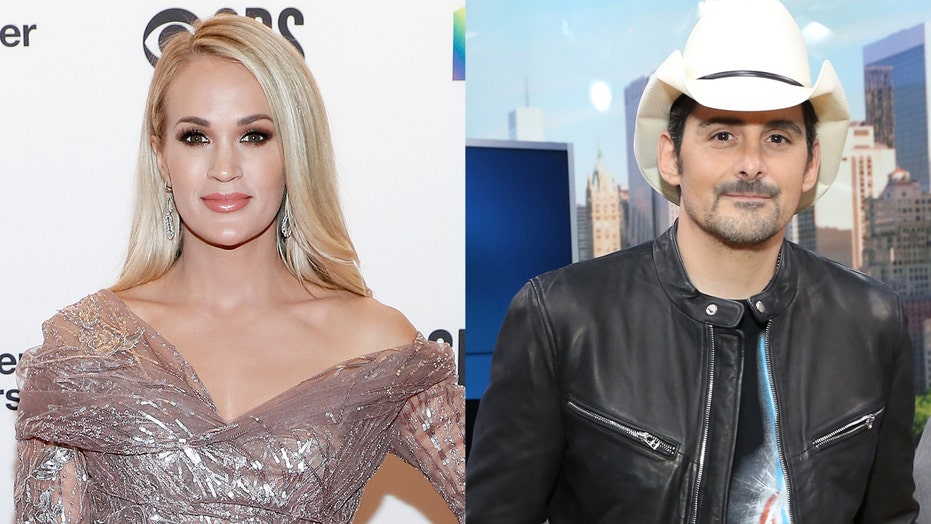 Carrie Underwood, Brad Paisley perform together at the Grand Ole Opry
