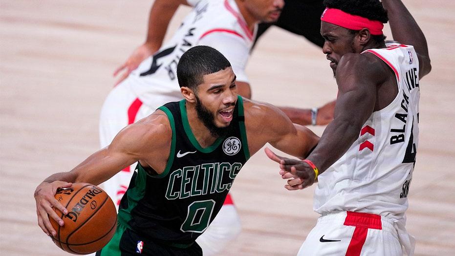 Celtics Oust Raptors In Game 7 Head To East Finals Vs Heat Fox News