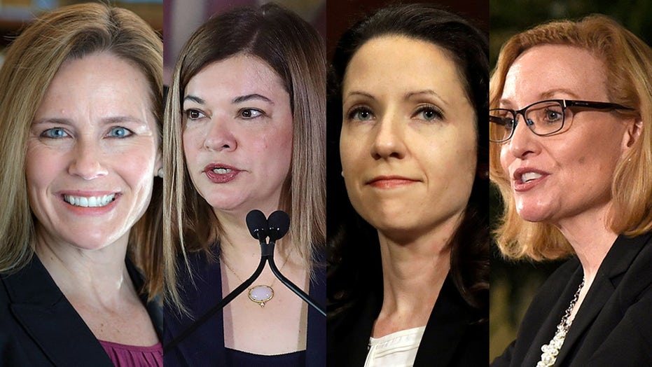 Female judges come into spotlight as Trump says he's narrowing his SCOTUS list