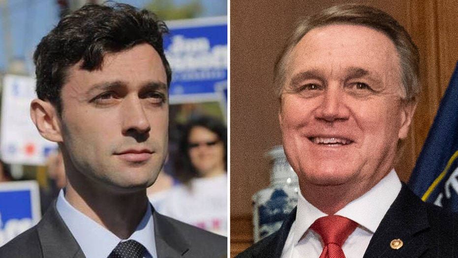 Sen. David Perdue mocks Jon Ossoff for eating vegan burger
