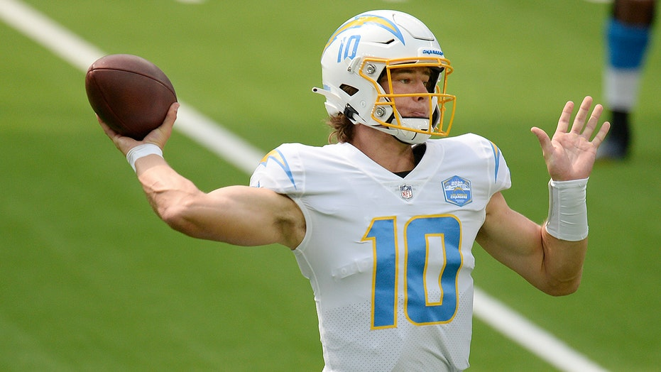Chargers' Justin Herbert in legendary company with debut performance vs. Chiefs