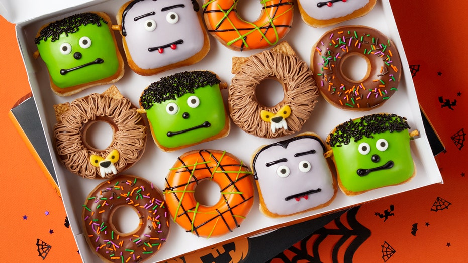 Krispy Kreme Halloween Doughnuts Promo 2020 Krispy Kreme offering free Halloween doughnut to anyone who shows