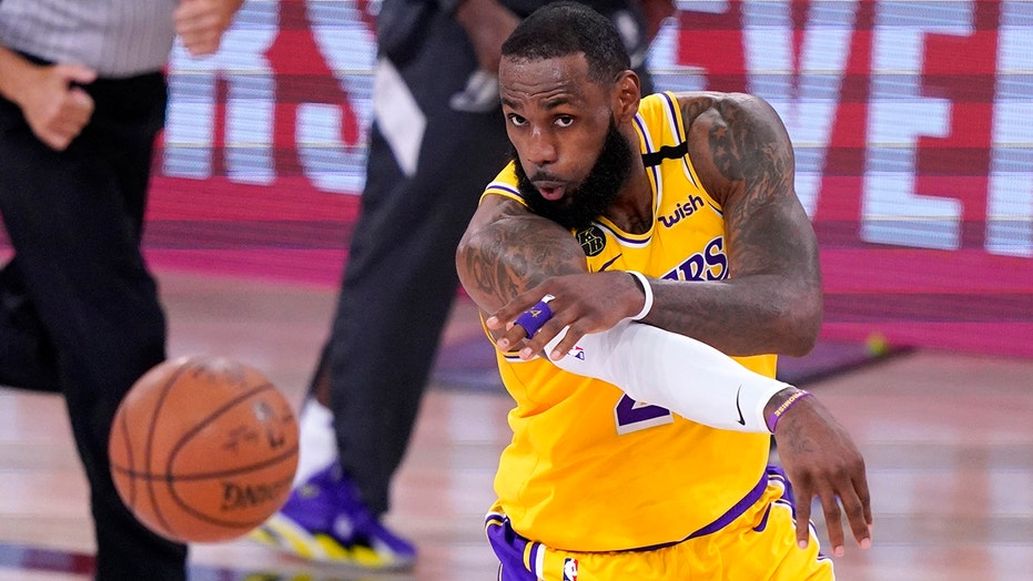 Lakers roll past Nuggets 126-114 in West finals opener