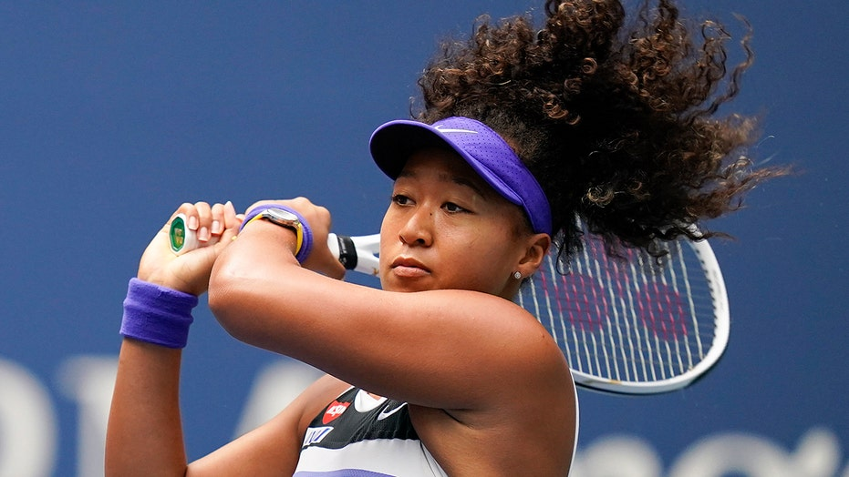 Osaka says she's out of French Open with injured hamstring