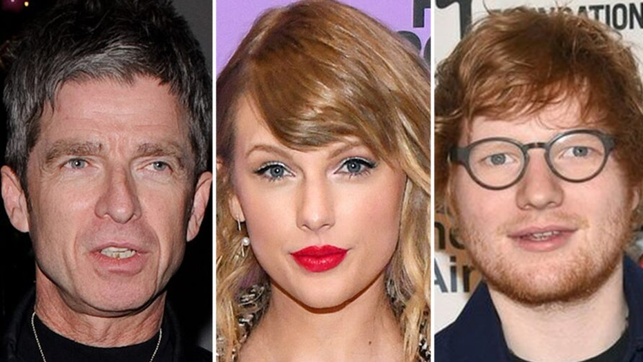 Ex-Oasis guitarist Noel Gallagher disses Taylor Swift, Ed Sheeran's music