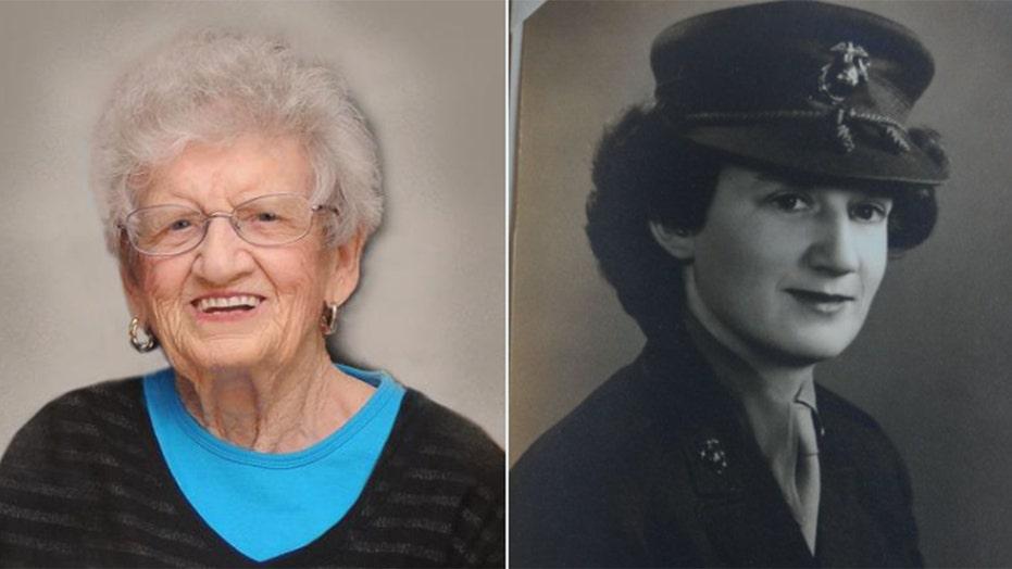 Oldest living U.S. Marine celebrates 107th birthday in North Carolina