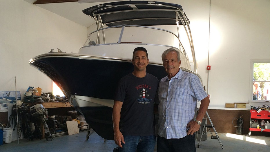 New York man recreates father's journey from Long Island to Florida in aging 22-foot motorboat
