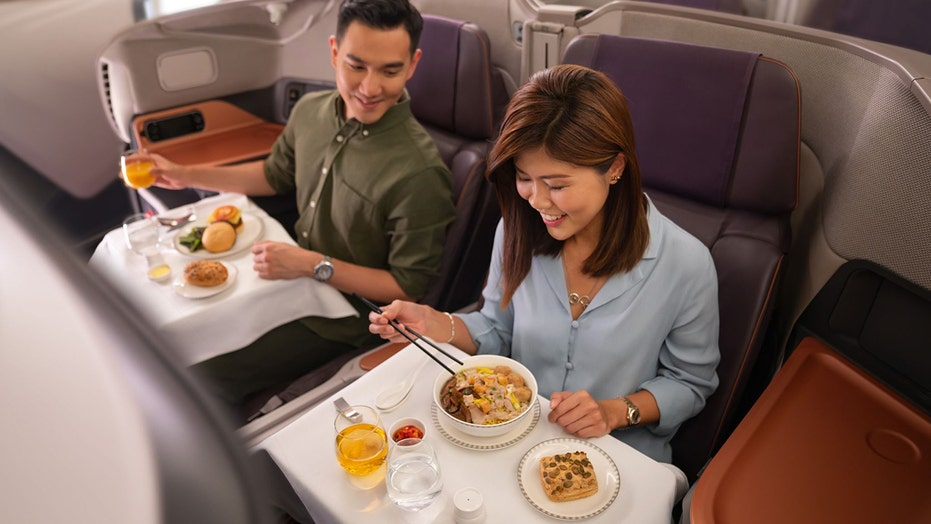 Reservations at Singapore Airlines' Restaurant A30, where guests eat in a grounded jet, sell out in half hour