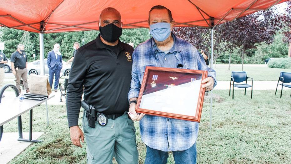 Virginia detectives replace medals Marine Vietnam vet lost in burglary
