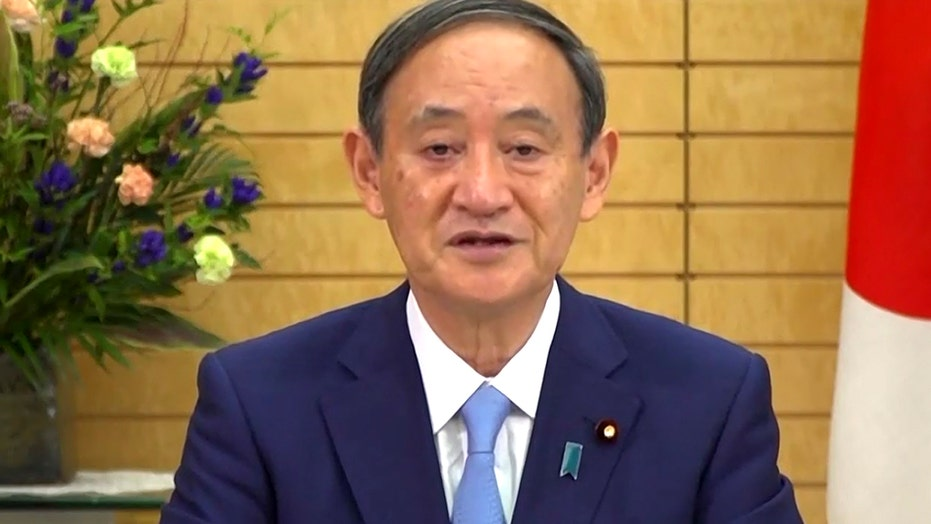 Japan's new prime minister vows to host Olympics next year