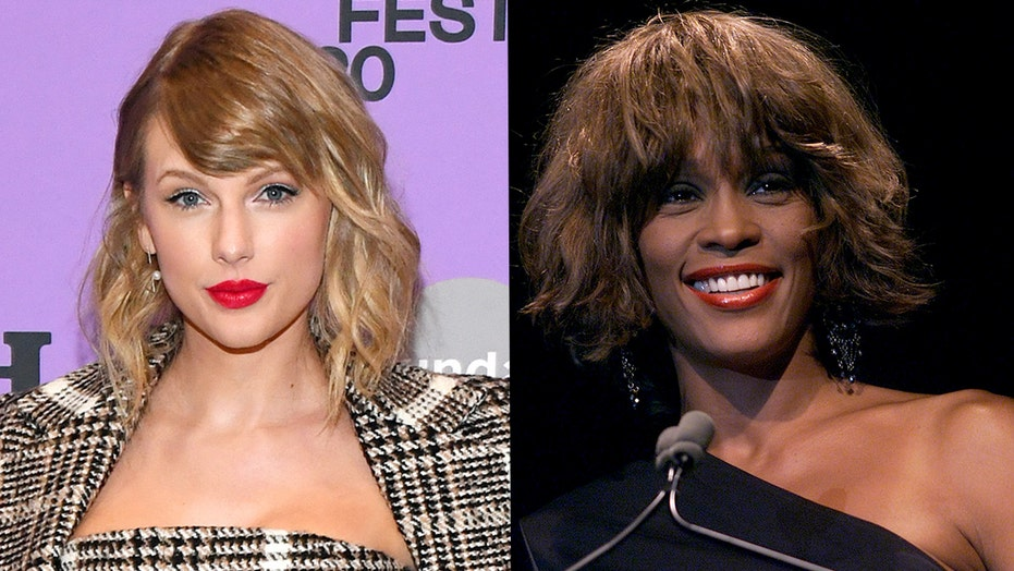 Taylor Swift ties Whitney Houston for most weeks atop Billboard 200 for female artist
