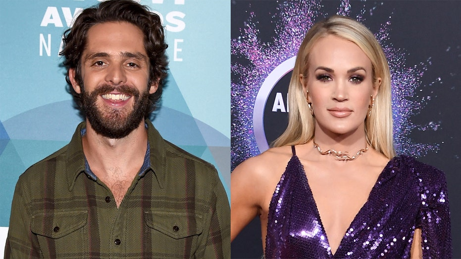 Fans upset over Carrie Underwood, Thomas Rhett's 2020 ACM Awards entertainer of the year tie