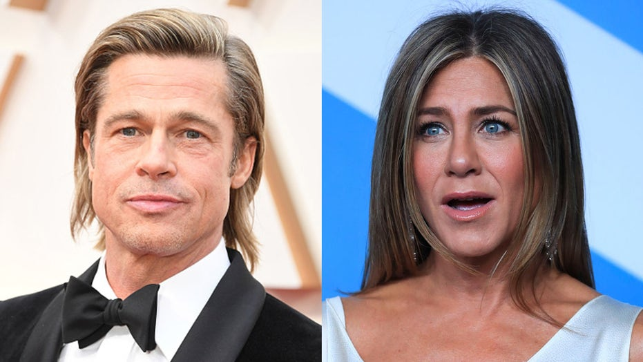 Matthew McConaughey skerts Jennifer Aniston, Brad Pitt het seksuele spanning tydens die Zoom-tafel gelees
