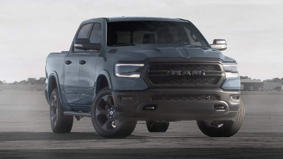 Ram 'Built to Serve' pickup salutes the US Air Force anniversary