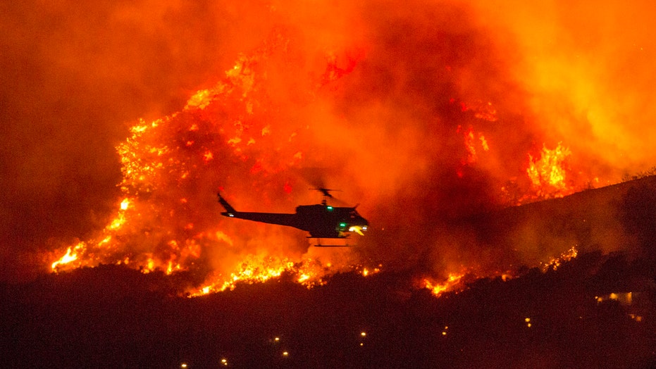 Military rescues 35 as California's Creek Fire rages