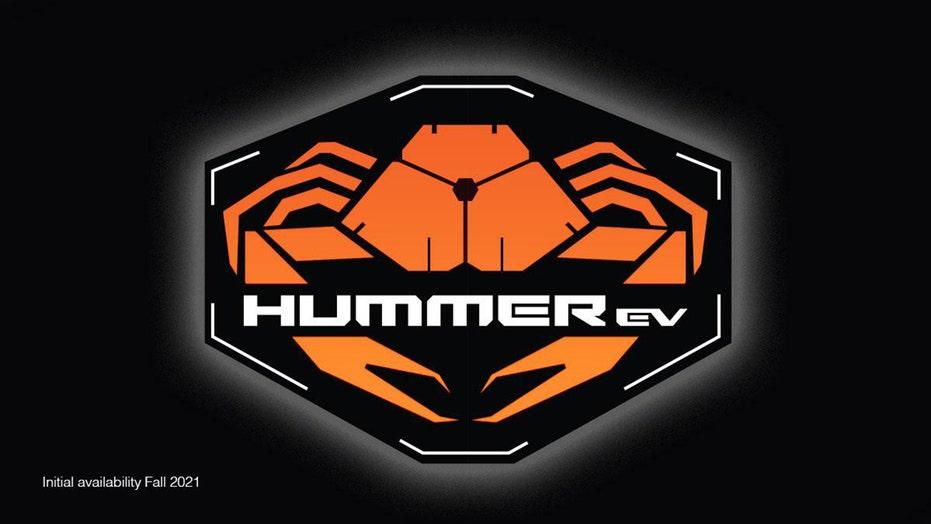 GMC reveals HUMMER EV's crab logo