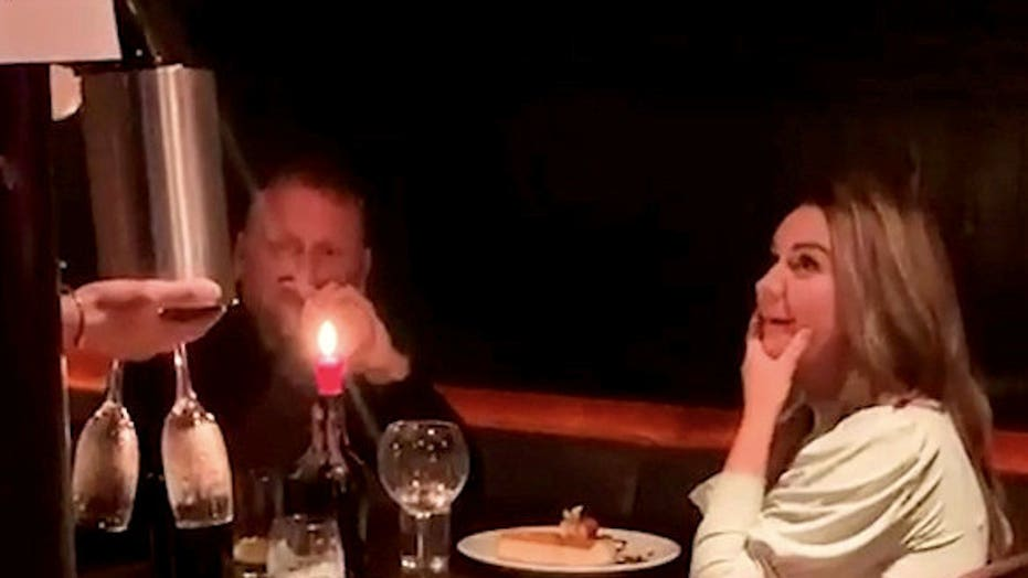 Man pranks friend on first date by calling restaurant, ordering 'will you marry me' dessert to the table