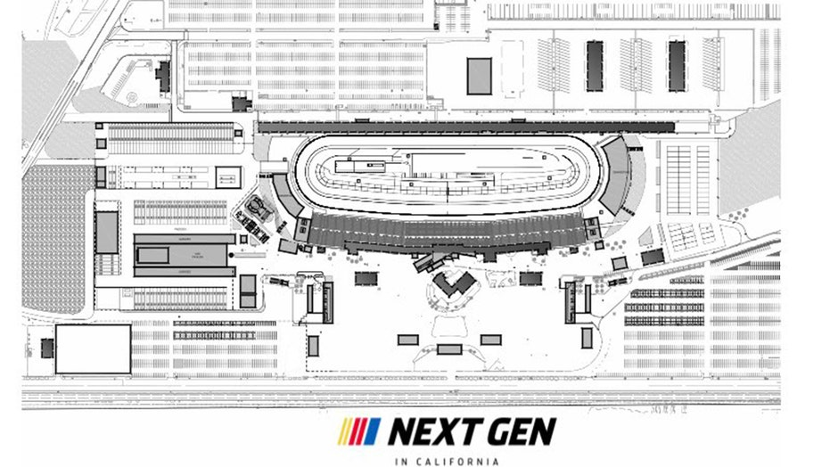 NASCAR wants to replace Auto Club Speedway with a half-mile short track