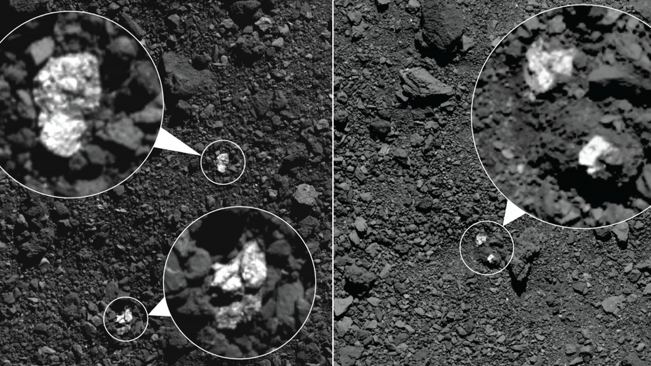 NASA finds parts of another asteroid on asteroid Bennu