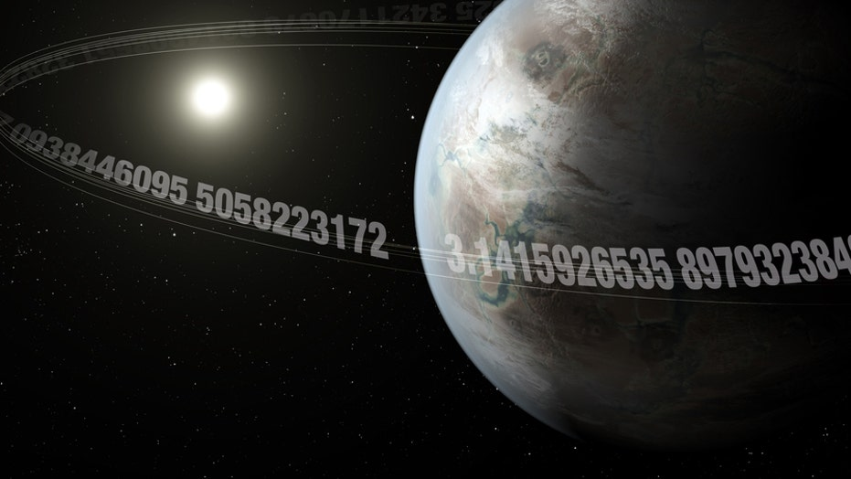 Mysterious 'pi planet' discovered in deep space