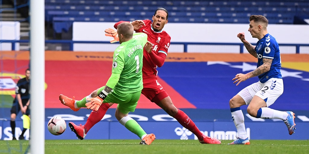 Van Dijk injury causes concern for frustrated Liverpool