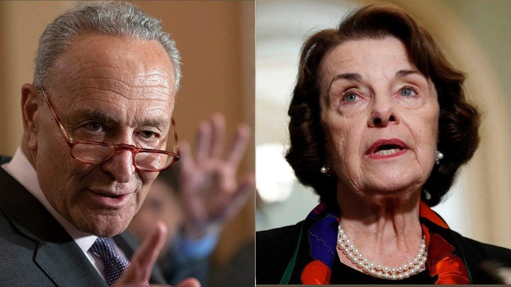 Left demands top senator step down over ACB hearing, Schumer keeps quiet