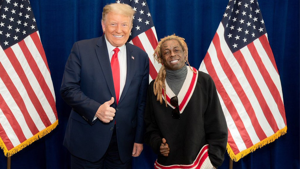 Lil Wayne's tweet about meeting with Trump sets social media on fire