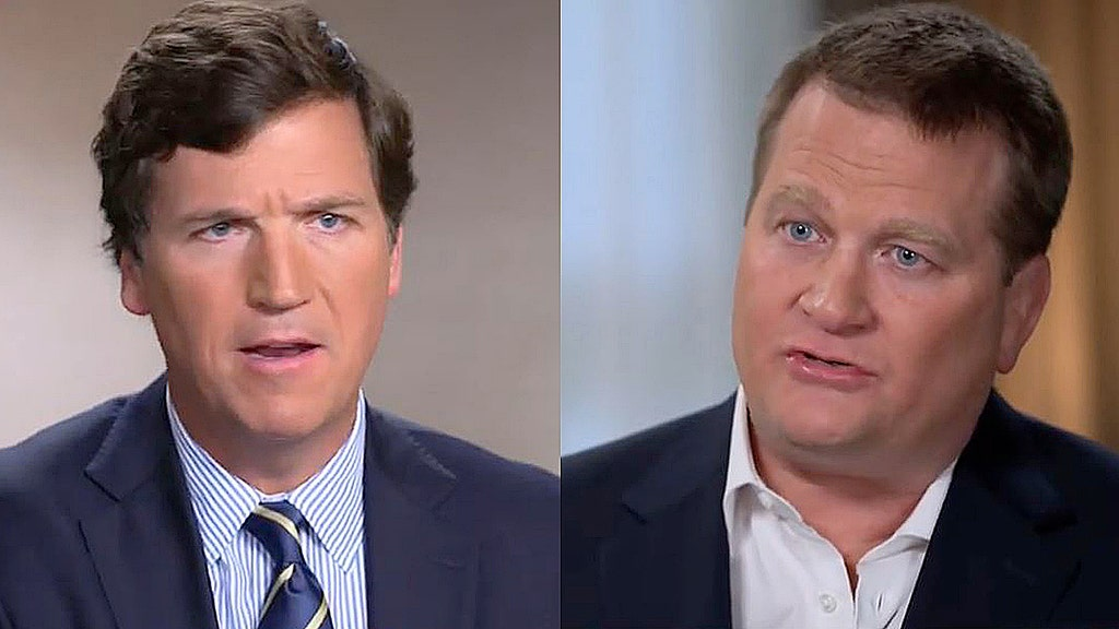 Media skips Carlson interview of Biden whistleblower, huge audience tunes in
