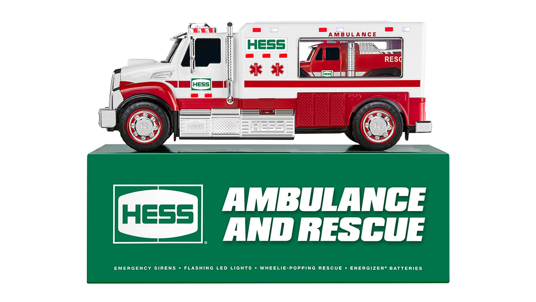 Hess holiday truck