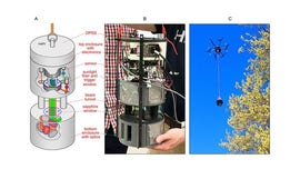 Army teams with universities to create miniature drone device that detects aerosols