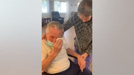 Couple of 60 years, separated for 215 days amid pandemic, reunites in touching video: 'I missed you so much'