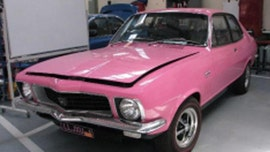 Stolen pink 'Sexy Lexy' sports car returned to owner after 28 years
