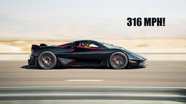 American SSC Tuatara supercar sets 316 mph speed record on Nevada highway