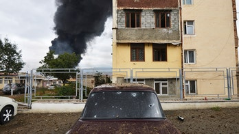 Syrian rebels reportedly sent to fight in Azerbaijan-Armenia conflict