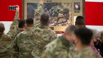Arizona governor, national security adviser unveil painting honoring Kayla Mueller