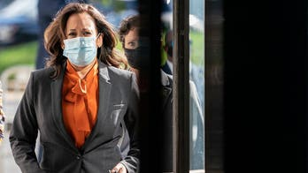 Kamala Harris halts travel after 2 involved in campaign test positive for coronavirus