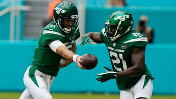 Jets' Frank Gore boasts about son's 45-yard run: '#ProudPapa'