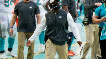 Dolphins reach bye week at .500 for 1st time under Flores