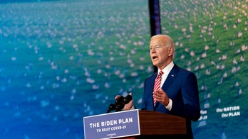 Biden slams Trump on coronavirus, says president's 'quit on America'