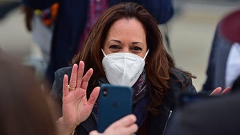 Kamala Harris caught on hot mic checking rally location: 'Are we in Cleveland?'