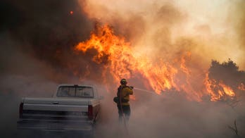 2 Orange County firefighters 'gravely injured' as wildfires rage: report