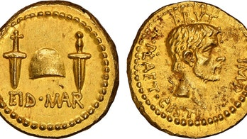 2,000 year-old Julius Caesar 'assassination coin' surfaces, may be worth millions