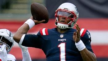 Patriots' Cam Newton, Stephon Gilmore miss practice Saturday, status uncertain for game against Broncos
