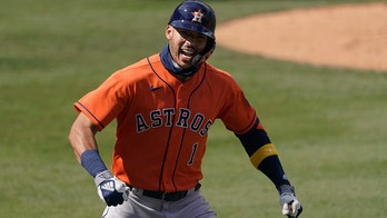 Springer, Correa rally Astros past A's 10-5 in ALDS opener