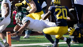 Michigan State takes down No. 13 Michigan in Ann Arbor, 27-24