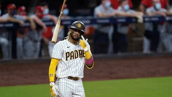 Tatis, Myers homer twice, Padres stay alive with 11-9 win